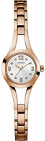GUESS W0912L3 Evie gold-plated and stainless steel watch