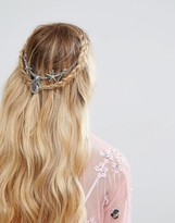 Asos Mermaid Faux Pearl Back Crown