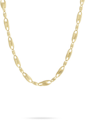 "Marco Bicego Lucia 18k Gold Interlock Chain Necklace, 18""L"