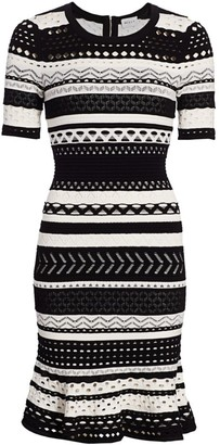 Milly Pointelle Bodycon Dress