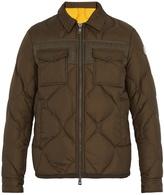 Moncler Stephan point-collar down coat