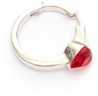 Ambush Heart Solitaire Earrings