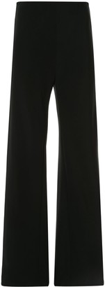 Rosetta Getty Bias flared trousers