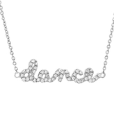 """Sydney Evan Dance"""" Necklace in Diamonds and White Gold"""