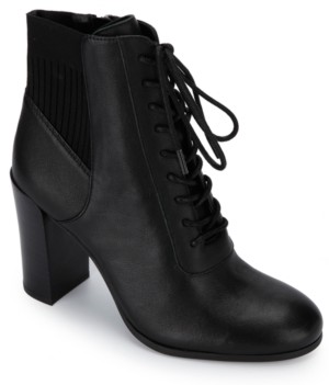 Kenneth Cole New York Women's Justin Lace Up Booties Women's Shoes