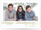 Minted Fresh Christmas Wishes Thanksgiving Cards