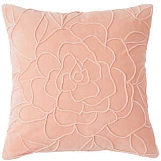 Peri Home Velvet Floral Decorative Pillow Bedding