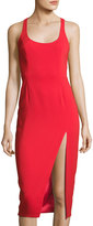 Jay Godfrey Witherspoon Scoop-Neck Sheath Dress, Red