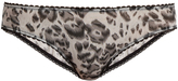 Stella-McCartney-Lingerie STELLA MCCARTNEY LINGERIE Florence Fluttering leopard-print briefs