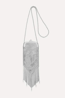 Paco Rabanne Fringed Chainmail Shoulder Bag - Silver