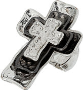 Topshop Multi Layer Cross Ring