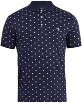 Polo Ralph Lauren Polka-dot cotton polo shirt
