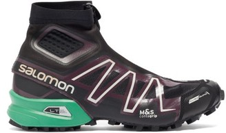 Salomon Snowcross Advanced Mesh Boots - Black Multi