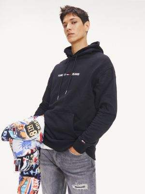 Tommy Hilfiger Chest Logo Relaxed Fit Hoody