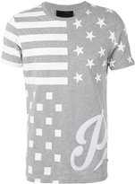 Philipp Plein print T-shirt - men - Cotton - S
