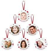 Pearhead Pear Head Family Tree Set Ornament Set