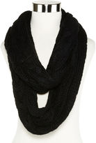 Liz Claiborne Braided Cable Knit Infinity Scarf