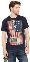 Denim & Supply Ralph Lauren Flag-Patch Cotton Jersey Tee