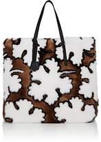 Fendi Women's Mink Fur Shopping Tote Bag