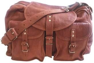 Balenciaga Orange Leather Handbags