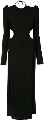 Dion Lee Ruched Cut-Out Dress