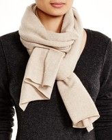 Bloomingdale's C by Angelina Solid Cashmere Scarf - 100% Exclusive