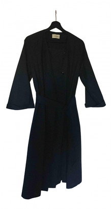 Lemaire Blue Cotton Trench coats