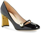 Gucci Women's Arielle Half Moon Heel Pump