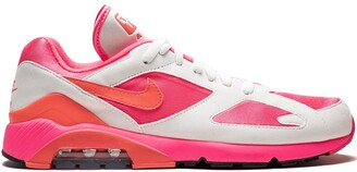Nike AO4641600 Laser Pink/Solar Red-White Furs & Skins->Feather