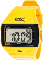 Everlast Yellow Silicone Strap Digital Sport Watch