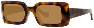 Loewe Rectangle Acetate Sunglasses