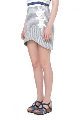 Desigual Women's Marti Knitted Short Skirt
