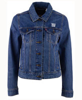 Levi's Women's New York Giants Denim Trucker Jacket