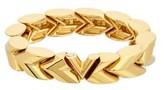 Louis Vuitton Gold-tone Unchain V Bracelet.