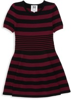 Milly Little Girl's Striped Roundneck Dress