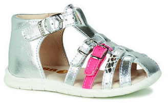 GBB PERLE girls's Sandals in Silver