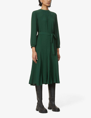Sessun Noralia crepe midi dress