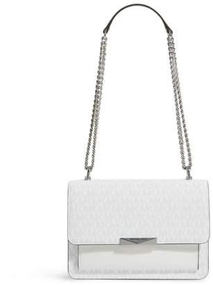 MICHAEL Michael Kors Medium Leather Logo Jade Bag