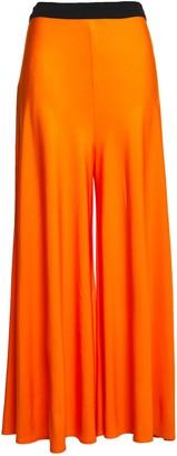 By Malene Birger Crepe-jersey Wide-leg Pants