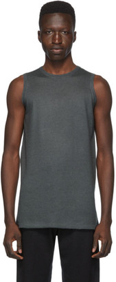Frenckenberger SSENSE Exclusive Grey Cashmere Tank Top