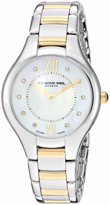 Raymond Weil Women's 5132-STP-00985 Noemia Analog Display Quartz Two Tone Watch