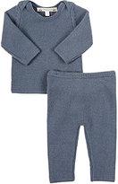 Bonpoint Cashmere Sweater & Pants Set-BLUE