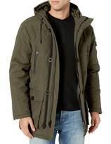 Cole Haan Men's Oxford Faux Down Puffer Coat