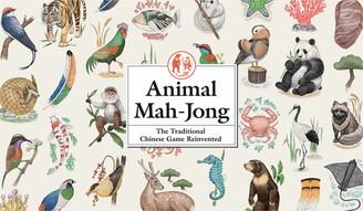 Chronicle Books Animal Mah-Jong Game