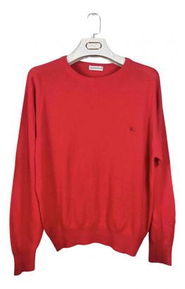 Burberry Red Wool Knitwear & Sweatshirts