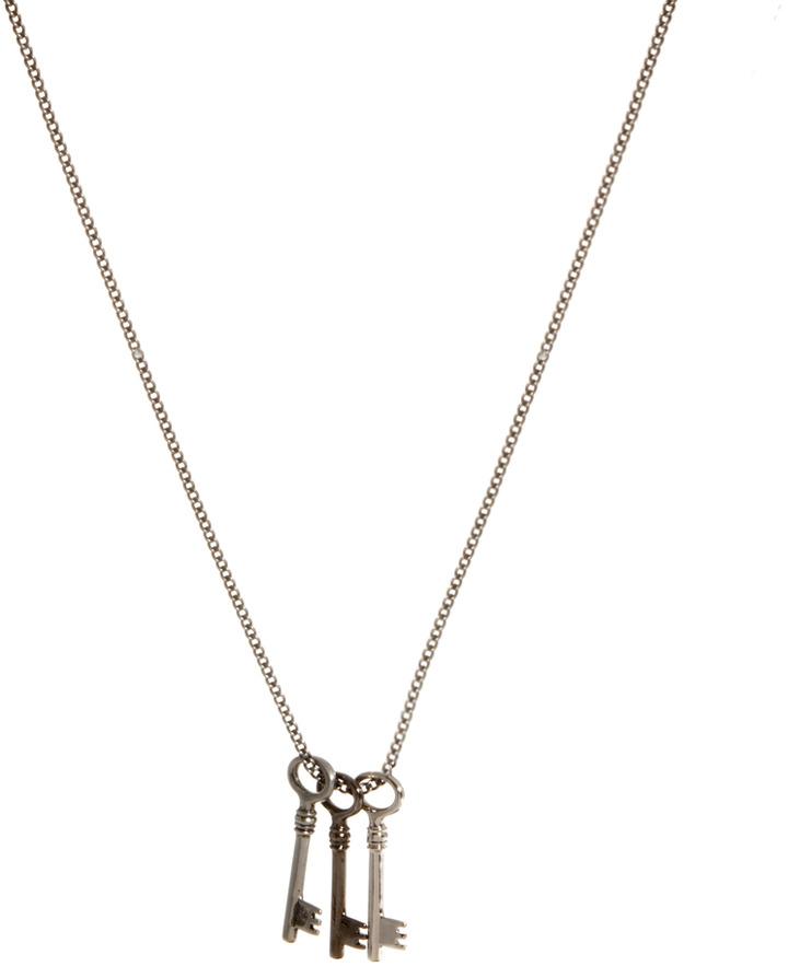 Simon Carter Keys Necklace