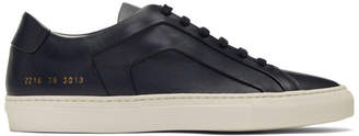 Common Projects Navy Achilles Multi-Ply Sneakers