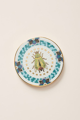 Anthropologie Garden Tile Coaster By in Green Size COASTERS