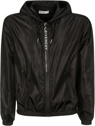 Givenchy Dual Zipped Pocket Zipped Hoodie