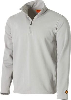 Wrangler Men's Big & Tall Flame Resistant 1/4 Zip Fleece